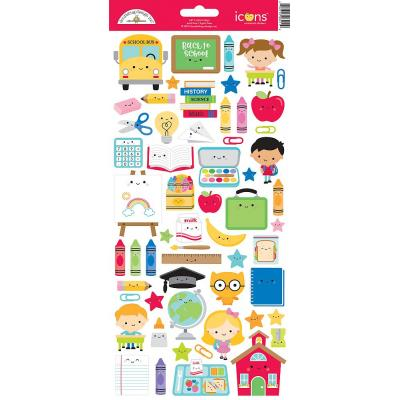 Doodlebugs School Days - Cardstock Sticker